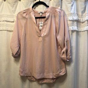 Express blush blouse